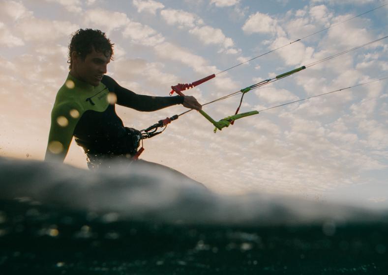 aprender kitesurf