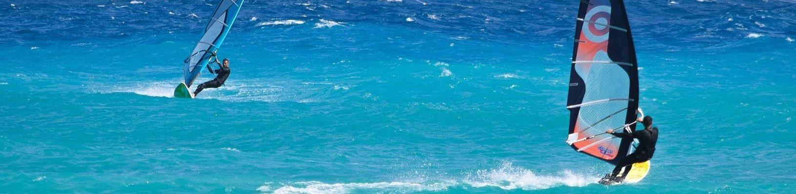 aprender wind surf
