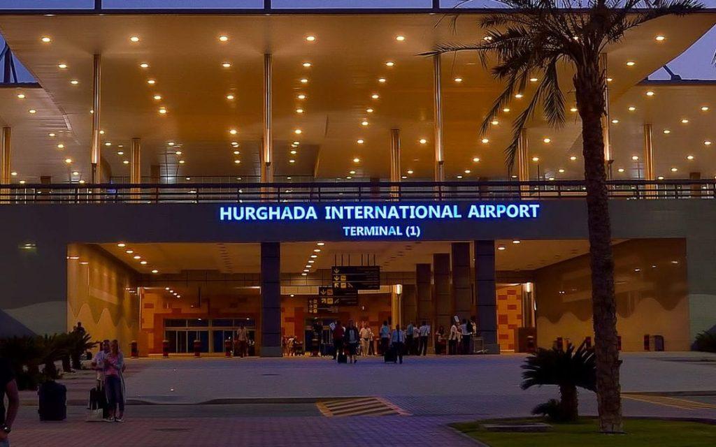 llegada a hurghada
