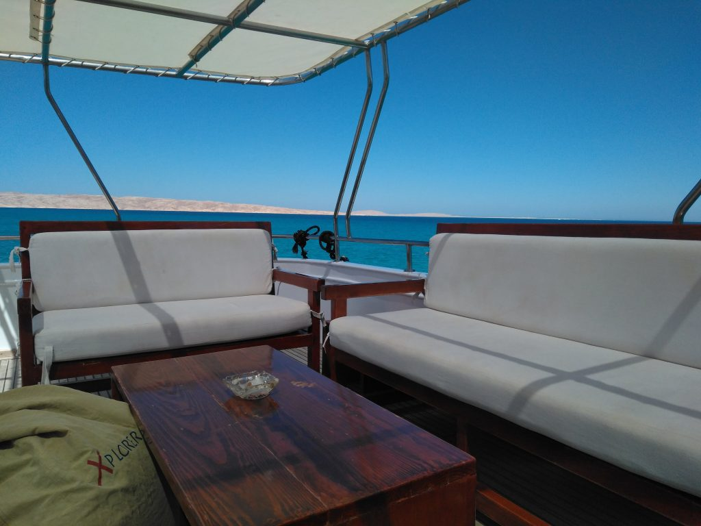 barco vita xplorer interior