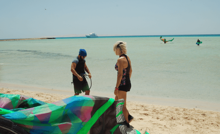 spots de kitesurf mar rojo