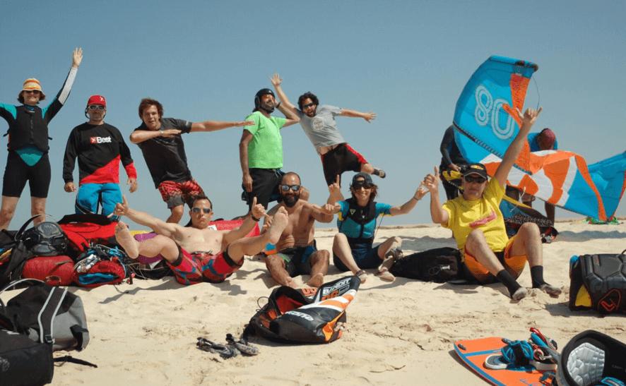 viajes de kitesurf