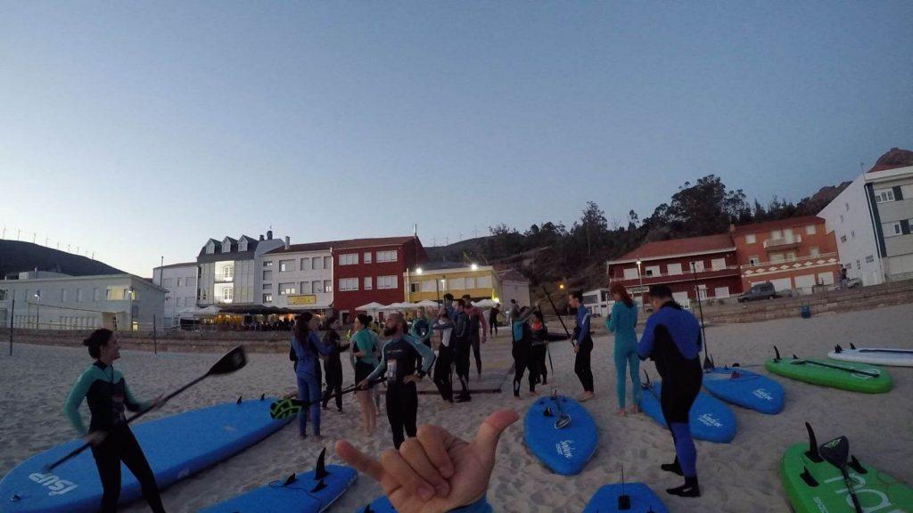 travesias de paddle surf a coruña