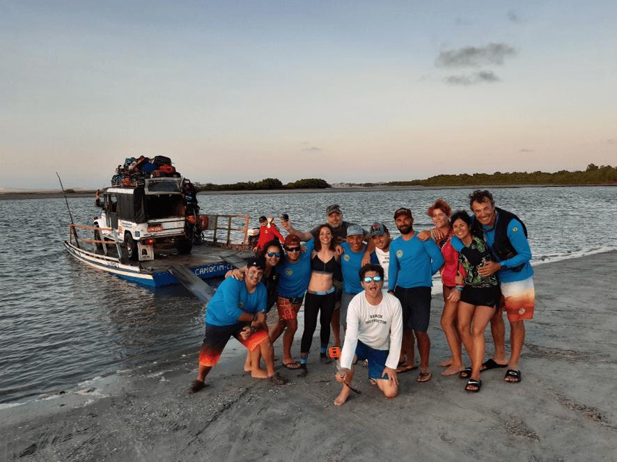 kite surf en brasil