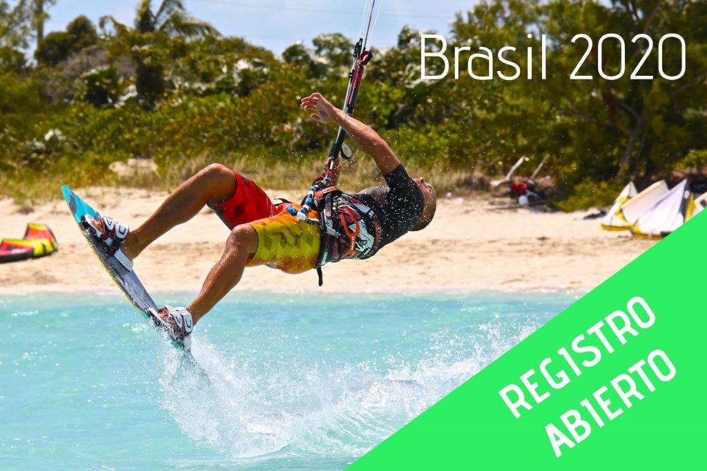 viaje de kitesurf brasil 2020