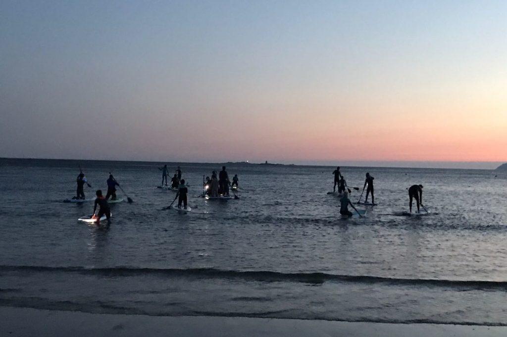 Salida de paddel surf