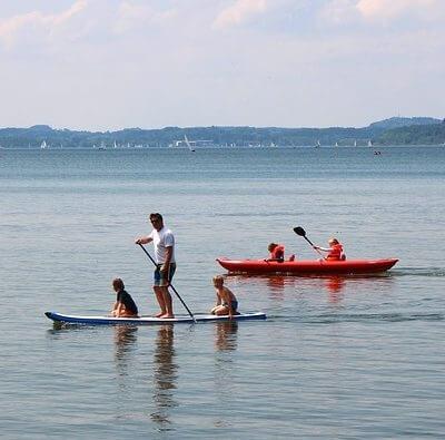 Aprender paddle surf