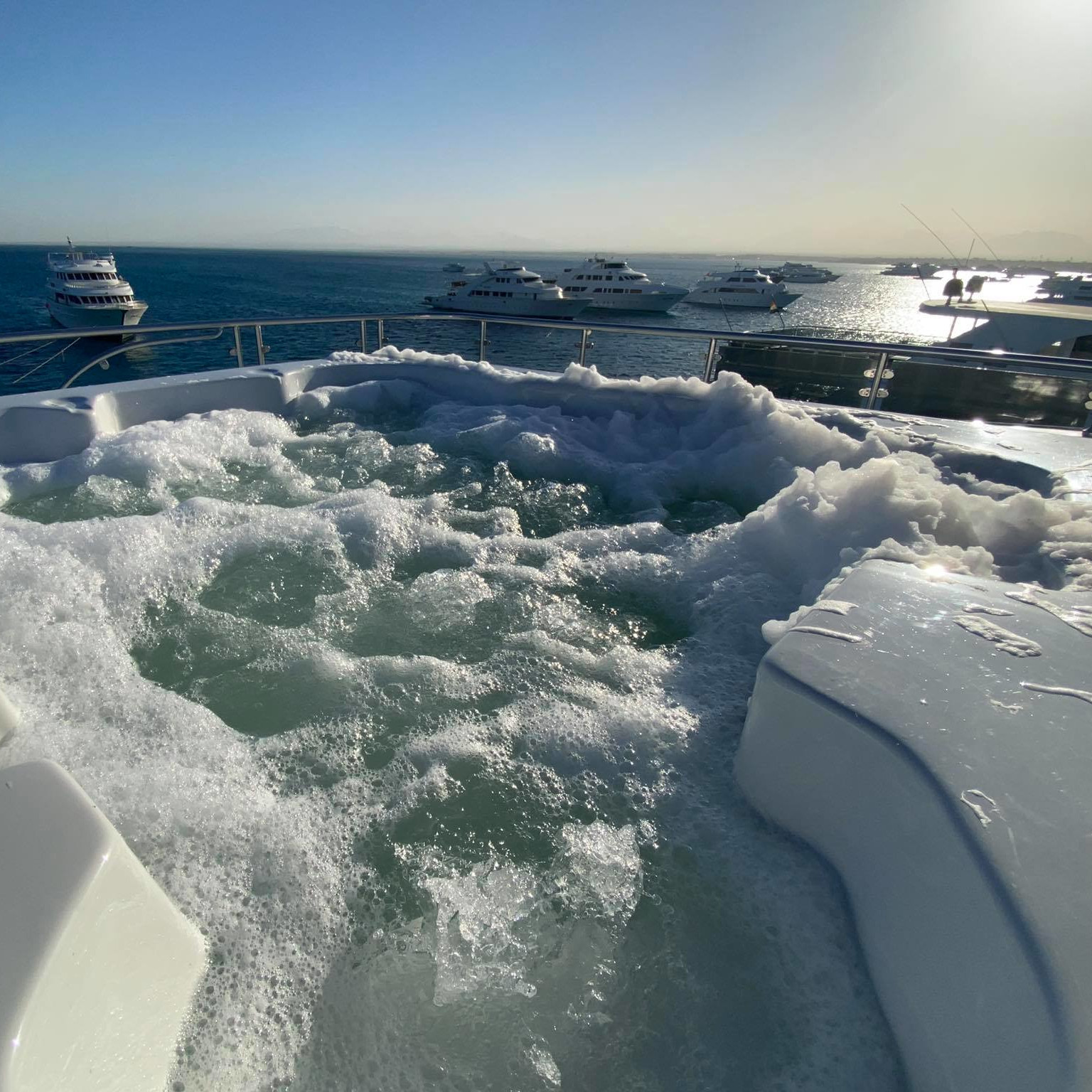 kitetrip mar rojo barco